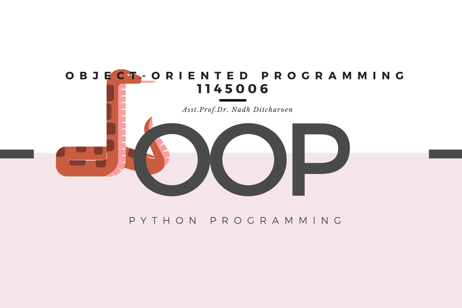 1145006 Object-Oriented Programming (ICT)
