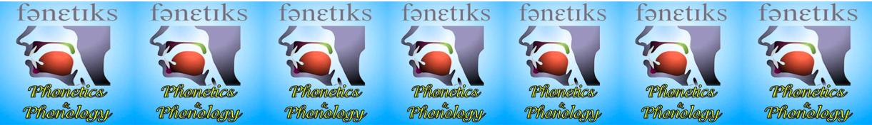 1421231 English Phonetics and Phonology