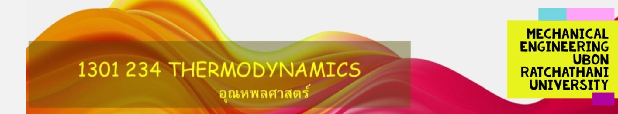 1301234 Thermodynamics